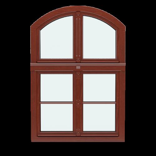 Okna jednoramowe rekonstrukcyjne WOOD RETRO